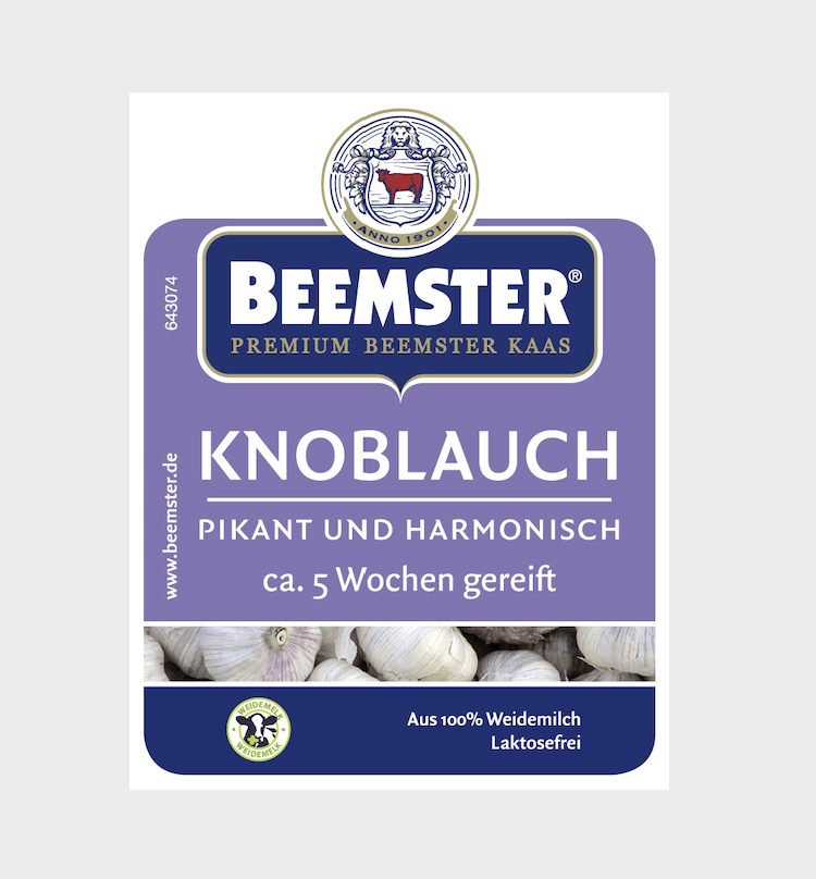 PP-Beemster Knoblauch, 36 Stück